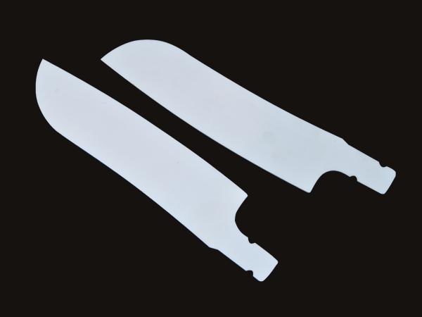 氧化锆陶瓷刀平面镜面抛光效果图