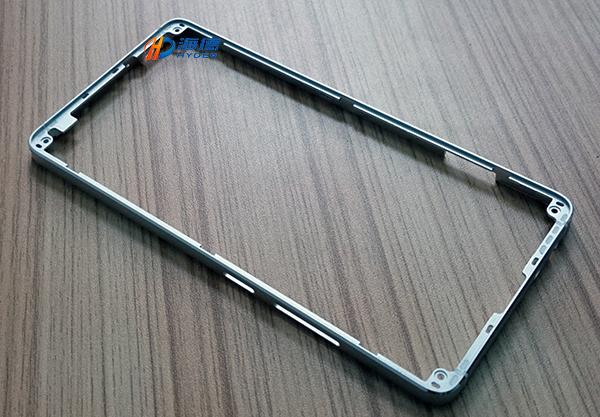 液态金属手机中框抛光